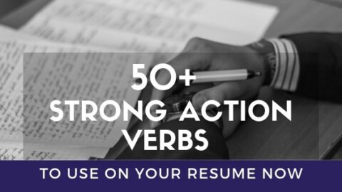Action Verbs for Resume Bullet Points